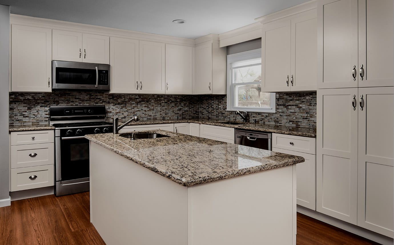 Backsplashe - Standard or Full height - Quartz Granite Marble