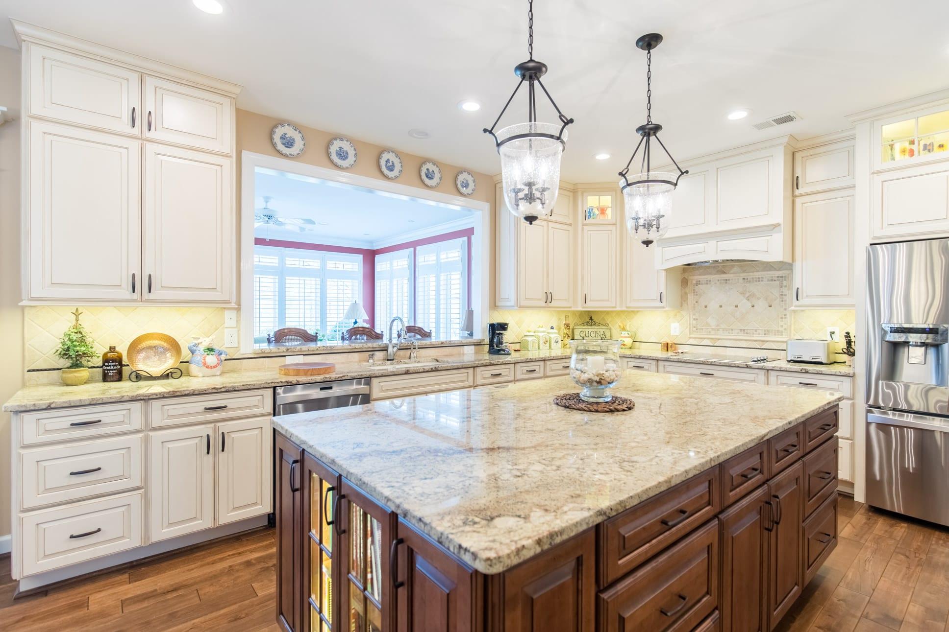 Granite Countertops Charlottesville Va Kitchen Island With